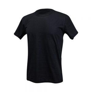 Camisa algodão preta masculina