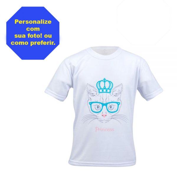 Camisa infantil poliester